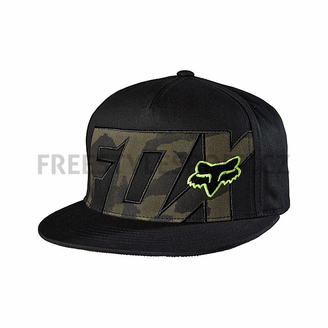 Kšiltovka FOX Ozwego Snapback Hat Black  db114f64635