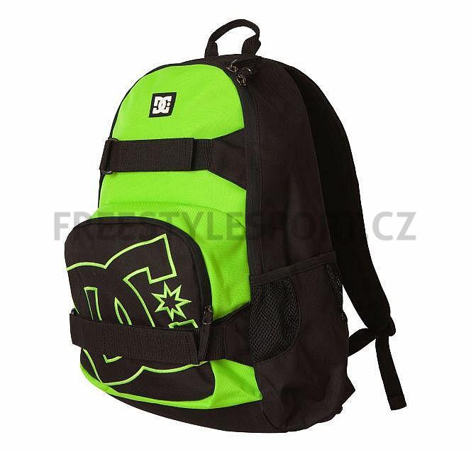 Batoh DC Nelstone Backapack Black Green Black Green  dc6904c5c8