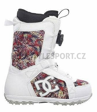 68fa99b48 Boty na snowboard DC Scout 09/10 White Print | Snowboard, skate a in-line  shop - Freestylesport