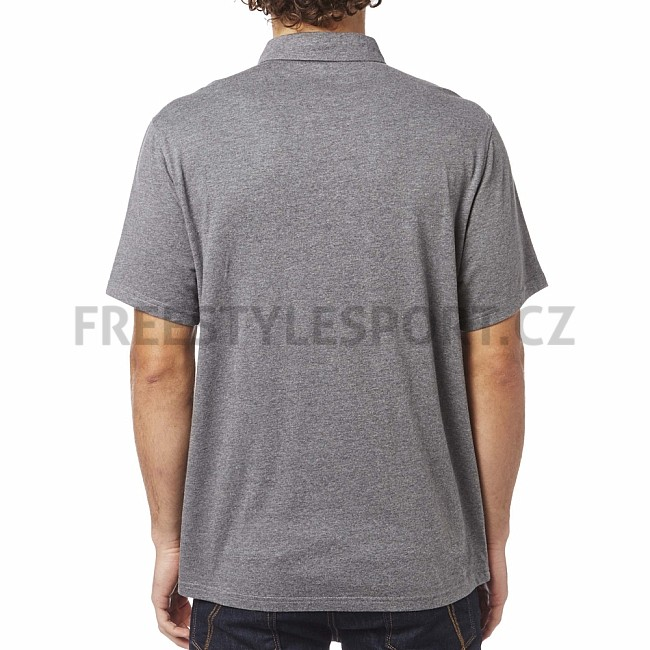 97a2f692b20d Triko pánské FOX LEGACY POLO SHIRT HEATHER GRAPHITE