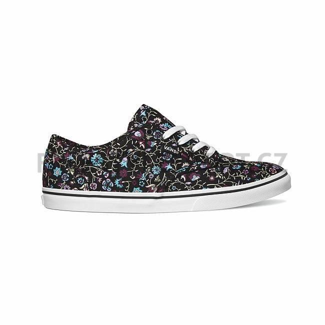 c50bd197550 ... Shoes 190286050551 new arrivals 7f22b e2540  Boty dámské VANS ATWOOD LOW  (Floral) BlackMulti Snowboard