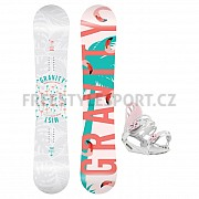Snowboard set GRAVITY MIST 18/19