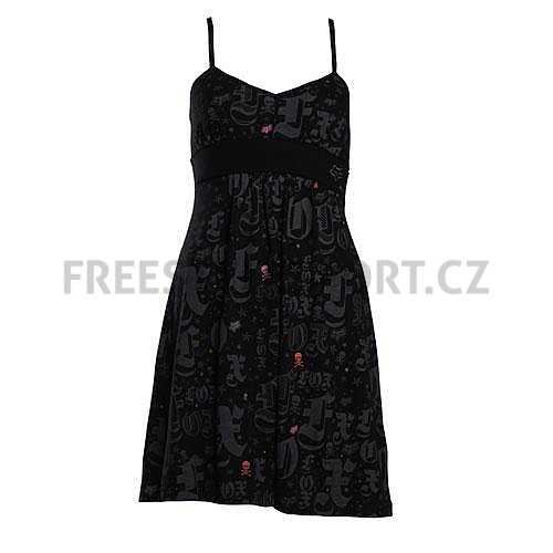 Šaty FOX Snap Crackle Dress Black  a79a0f3f4d