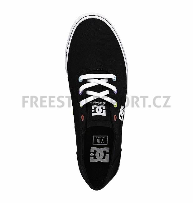 8098b401c11 Boty dámské DC GATSBY 2 BLACK WHITE WHITE