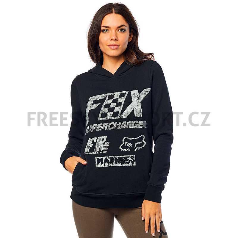Mikina dámská FOX Supercharged Po Hdy BLACK  8724d029d4