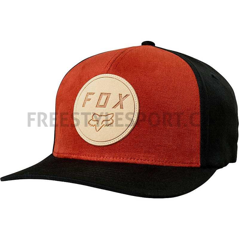 Kšiltovka FOX Resolved Flexfit Hat BLACK  d2d62dfe53